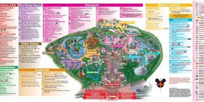Mapa De Disneyland Paris Para Imprimir.Los Angeles Mapa Mapas De Los Angeles California Eua